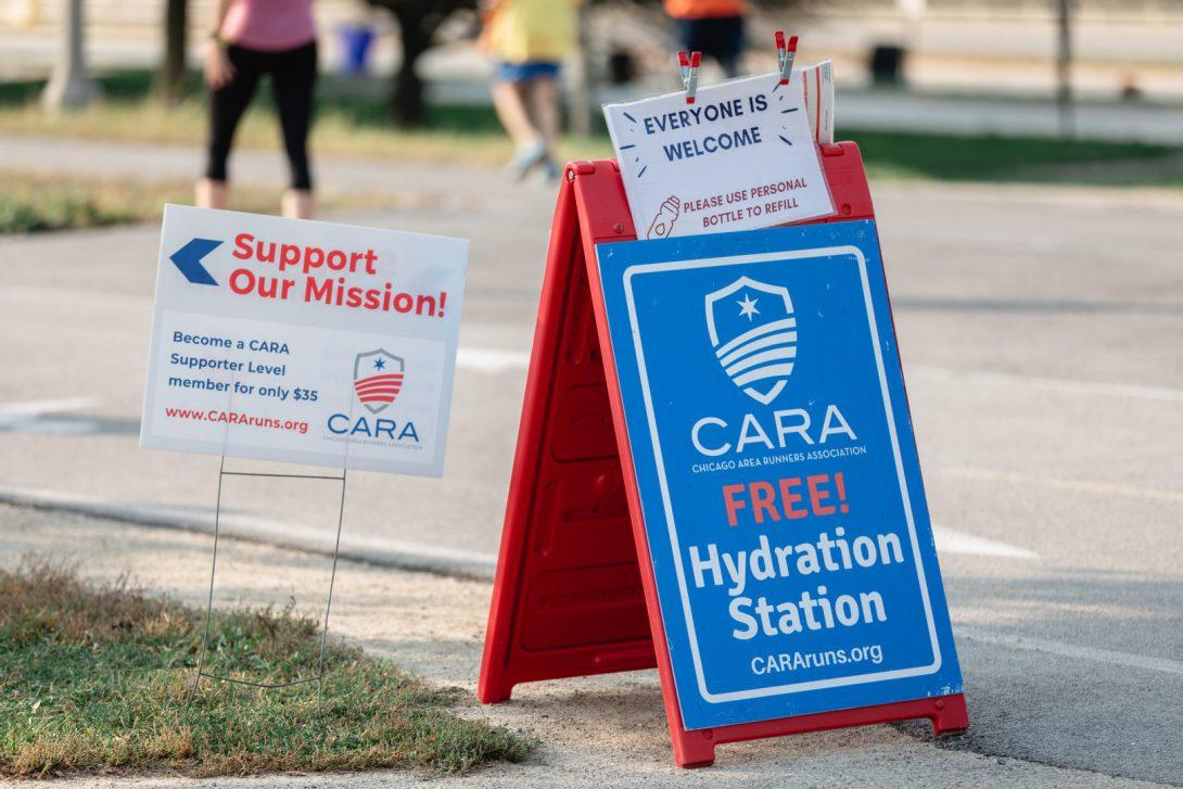 CARA Hydration Stations