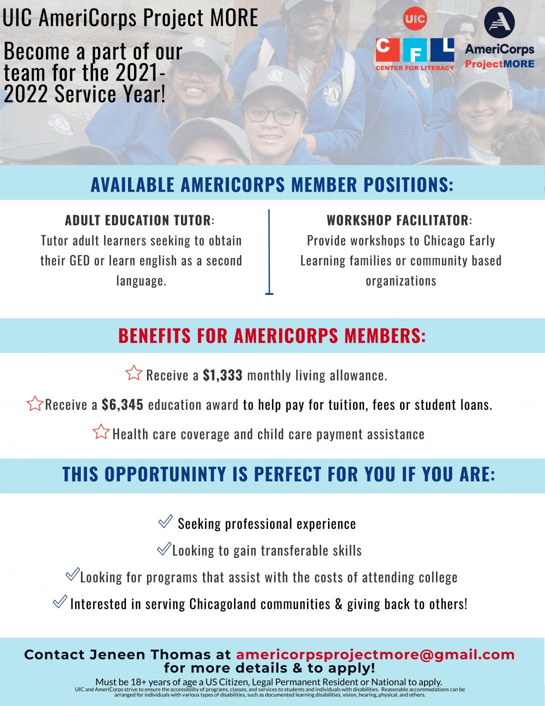 AmeriCorps Jobs