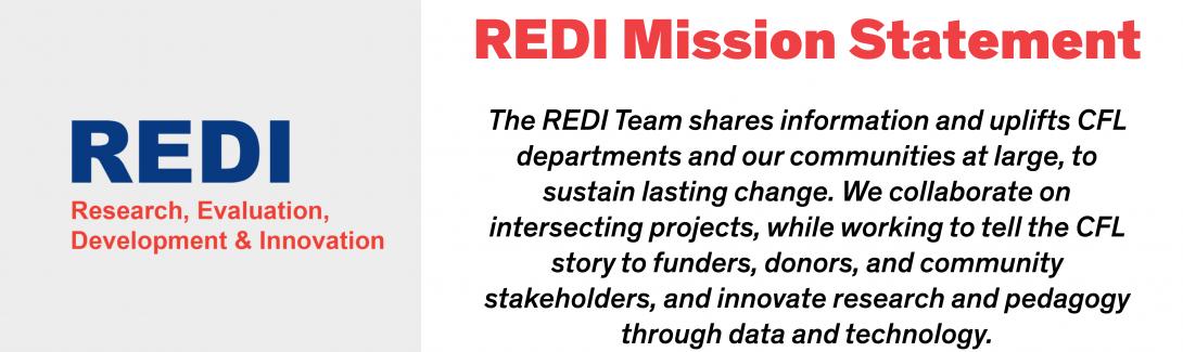REDI Mission Statement